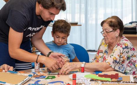 Poniendo en valor las relaciones intergeneracionales en Amavir Coslada